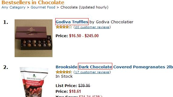 Lady godiva chocolate recipe