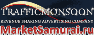 Логотип TrafficMonsoon